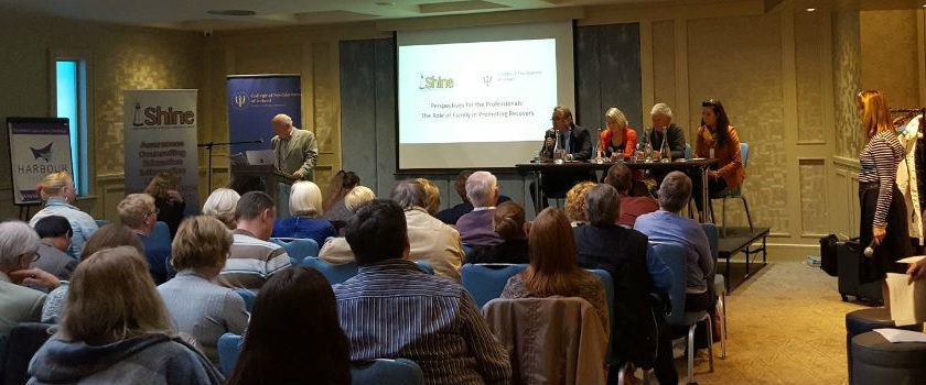 College of Psychiatrists of Ireland joint conference with Shine 2016