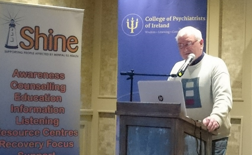 John Purcell at the joint College of Psychiatrists and Shine Conference 2016