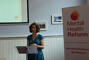 Shari McDaid, Mental Health Reform