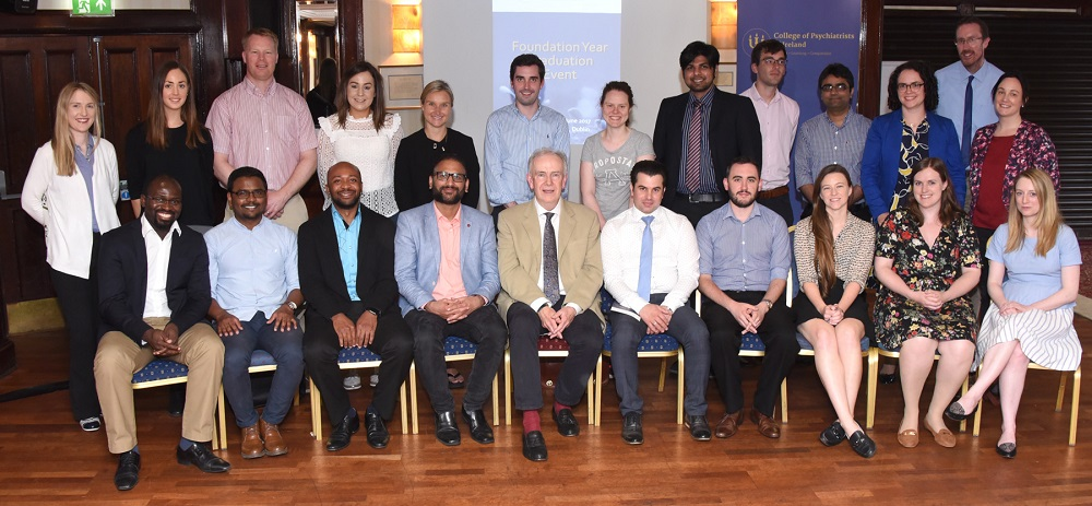 College of Psychiatrists Psychiatry Trainee Foundation Year Ceremony