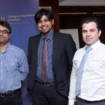 Dr Umer Iqbal, Dr Deepak Prashant Ponnosamy, Dr Zeshan Ghumman.