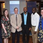 Dr Angela Noonan, CPsychI Vice Dean BST, Dr Caitlin O'Leary, Prof Greg Swanwick, CPsychI Dean of Education, Dr Uche Egbuta, Dr Isidor Edet, Dr Margaret Gallagher.