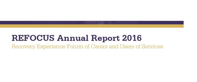 REFOCUS Annual Report 2016 Blog