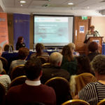 Gina Delaney Miriam Kennedy at the joint SHINE and College of Psychiatrists of Ireland conference