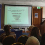 Gina Delaney presenting at the joint SHINE and College of Psychiatrists of Ireland conference