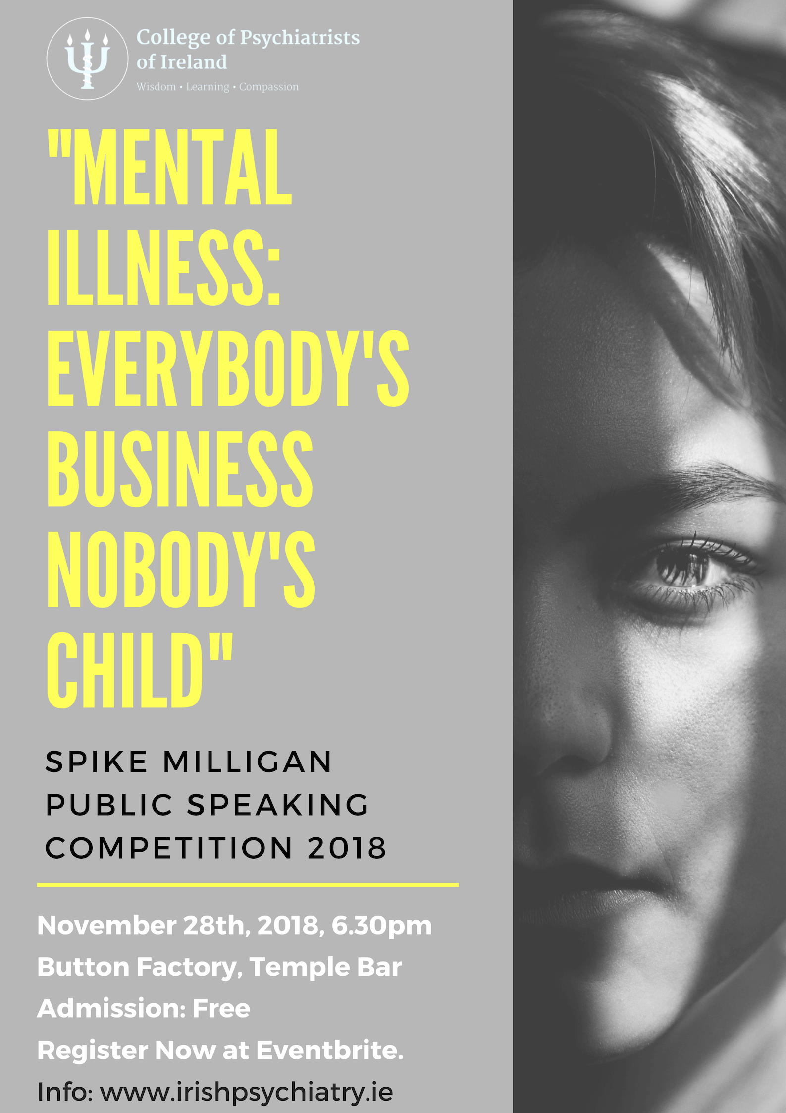 Spike Milligan Competition 2018 – The College of