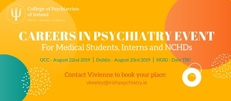 Careers in Psychiatry Event – Cork – The College of Psychiatrists of